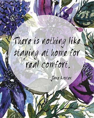Painting - Jane Austen Quotes Series-i by Garima Srivastava