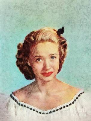 Musicians Royalty-Free and Rights-Managed Images - Jane Powell, Vintage Actress by John Springfield