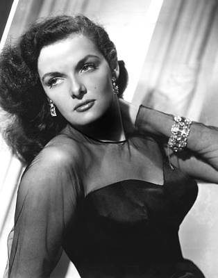 Diamond Bracelet Photograph - Jane Russell, 1948 by Everett