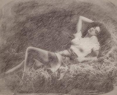 Celebrities Paintings - Jane Russell by Esoterica Art Agency
