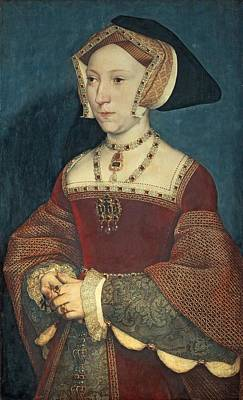 Jane Seymour Art Print by Holbein