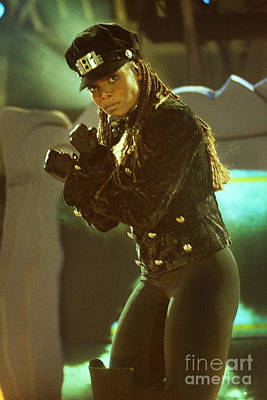 Concert Photograph - Janet Jackson 94-3022 by Gary Gingrich Galleries