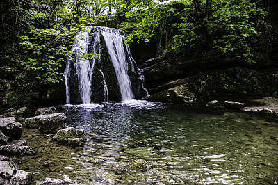 Photograph - Janet's Foss, Malham, Yorkshire, United Kingdom by Printed Pixels