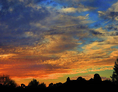Photograph - Jangly Sunset by Mark Blauhoefer