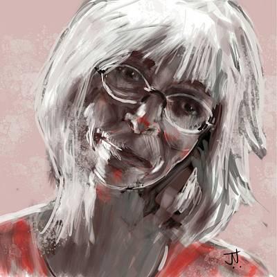 Painting - Janina by Jim Vance