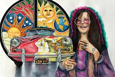 Painting - Janis by Don Whitson