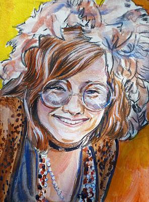 Janis Joplin Art Print by Bryan Bustard