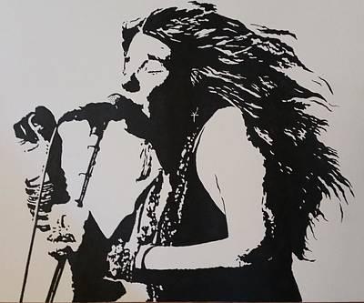 Steven White Painting - Janis by Steven White