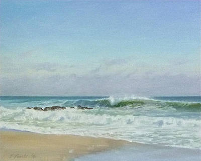 Painting - January Day by Ellen Paull