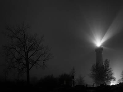 Photograph - January Fog by CJ Schmit