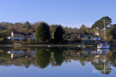 Photograph - January In Mylor Bridge by Terri Waters