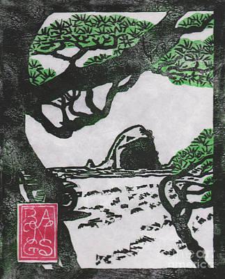 January Matsu At Cannon Beach Art Print