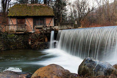 Photograph - January Morning At Gomez Mill #2 by Jeff Severson