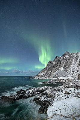 Photograph - January Night by Frank Olsen