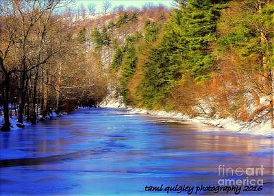 Photograph - January On The Jordan by Tami Quigley