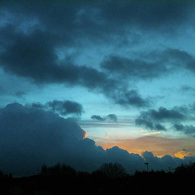 Photograph - January Sky by Anne Kotan