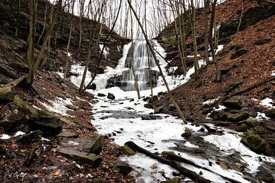 January Thaw At Sherman Falls Original by Phill Doherty