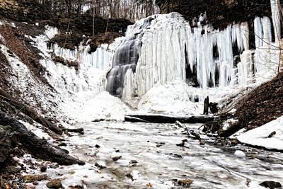 January Thaw At Tiffany Falls Original