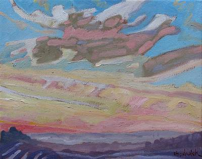 Meteorologist Painting - January Thaw Thunthet by Phil Chadwick
