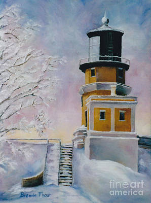 Painting - Januarys Light by Brenda Thour