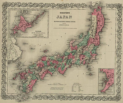 Japan Drawing - Japan by Colton