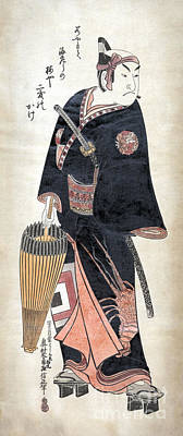 Photograph - Japan: Man, C1743 by Granger