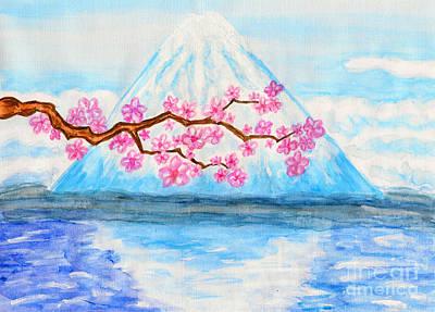 Painting - Japan, My Love by Irina Afonskaya