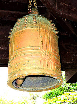 Wind Chimes Photograph - Japanese Bell by Mindy Newman