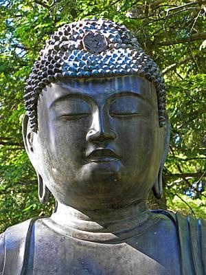 Photograph - Japanese Buddha by Elizabeth Hoskinson