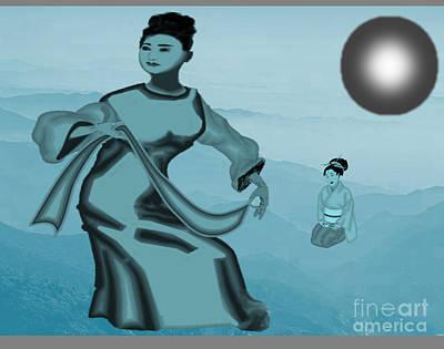 Painting - Japanese Dancer by Belinda Threeths