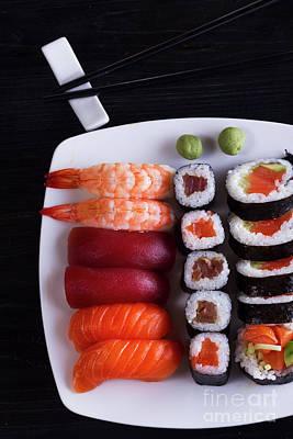 Photograph - Japanese  Dish by Anastasy Yarmolovich