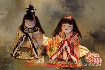 Photograph - Japanese Dolls by Eva Lechner