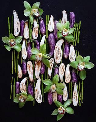 Photograph - Japanese Eggplant by Sarah Phillips