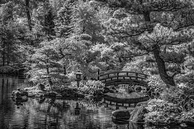 Keith Richards - Japanese Gardem by Bob Nardi