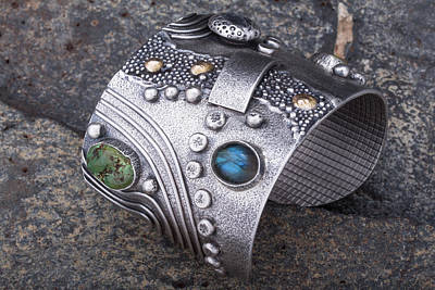 14k Jewelry - Japanese Garden Bracelet by Ric La Ban