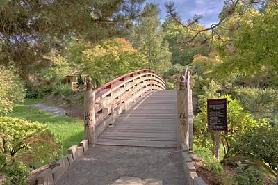 Japanese Gazebo And Garden In Gresham Oregon. Original by Gino Rigucci