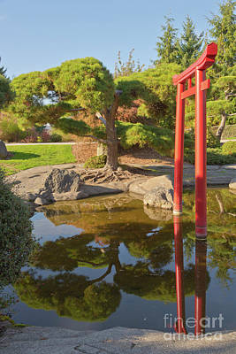 Japanese Garden In Tacoma Washington Original by Gino Rigucci