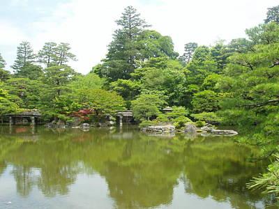Japanese Garden Ix Art Print by Wendy Uvino
