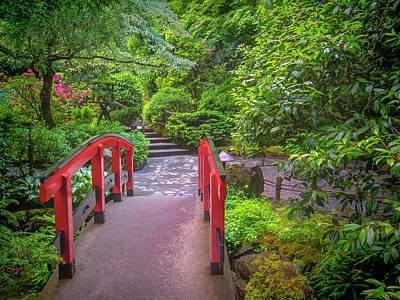 Photograph - Japanese Garden by Jacqui Boonstra