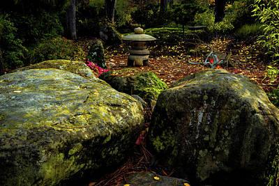 Photograph - Japanese Garden Lantern by Hans Franchesco