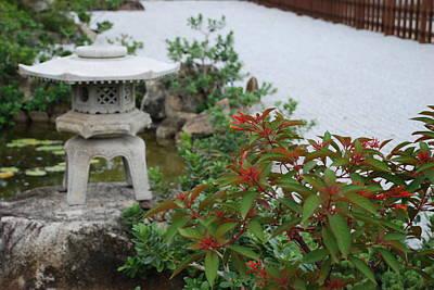 Japanese Garden Lantern Original by Rob Hans