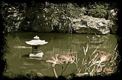 Michigan Photograph - Japanese Garden by Michael Peychich