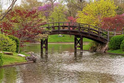 Photograph - Japanese Garden by Steve Stuller