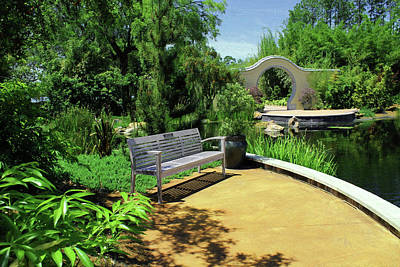 Photograph - Japanese Garden View 52 by Carlos Diaz