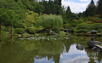 Photograph - Japanese Gardens 3 by Carol Eliassen