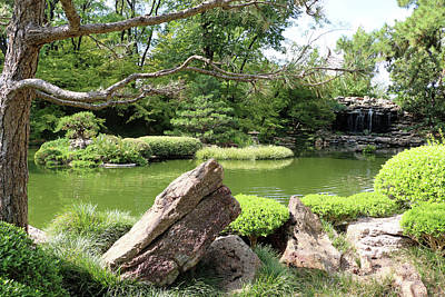 Photograph - Japanese Gardens - Saturday Afternoon 02 by Pamela Critchlow