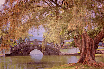 Photograph - Japanese Gardens by Susan Rissi Tregoning