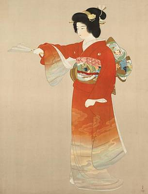 Digital Art - Japanese Geisha by Unknown