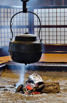 Photograph - Japanese Kettle by Alan Toepfer