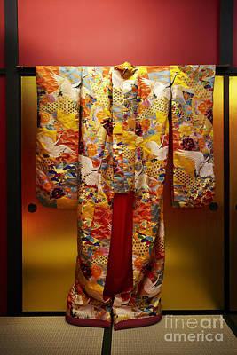 Photograph - Japanese Kimono by Ben Johnson
